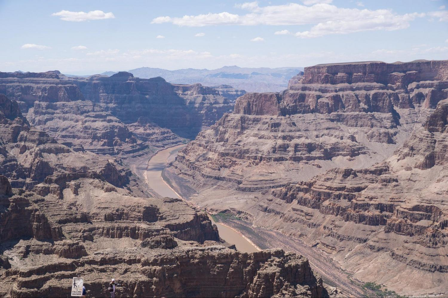 Grand Canyon West Rim Motor Coach Tour With Helicopter, Boat & Skywalk Tickets