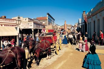 Sovereign Hill Gold Mine Tour From Melbourne