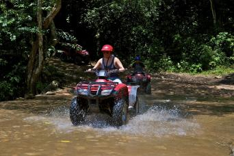 Gray Line ATV & Canopy Combo Single or Double Tour