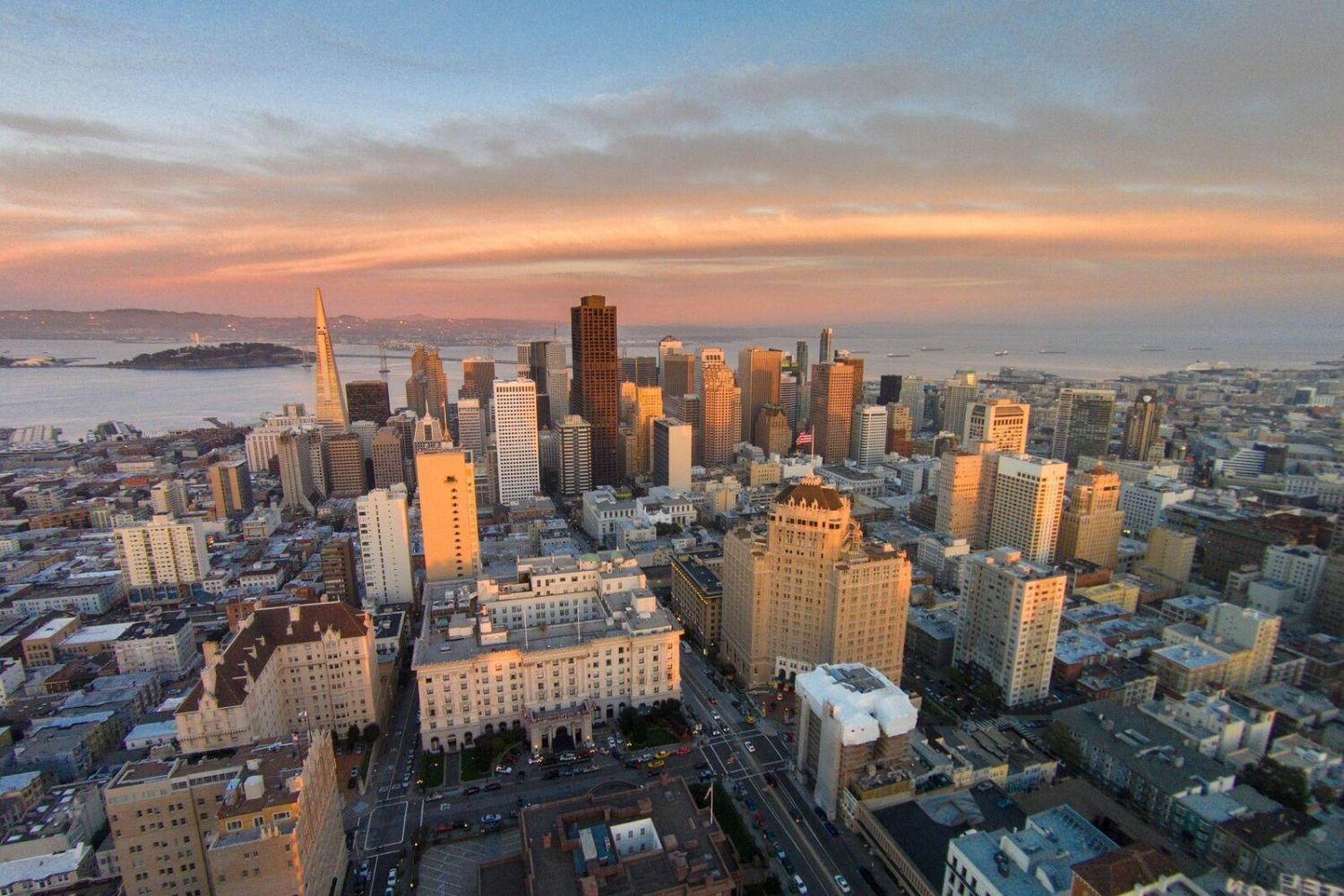 San Francisco City Bus & Helicopter Tour
