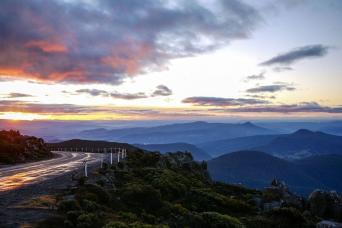 Gray Line Mt Wellington