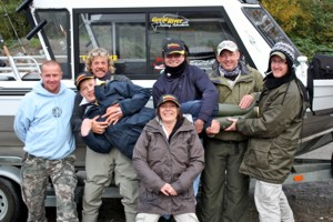 Adventure Fishing Holidays group in Canada
