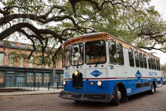 Air Conditioned Trolley Tour of Historic Savannah