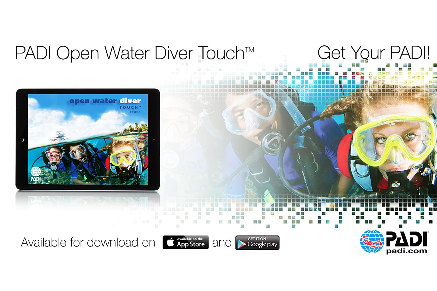 PADI Touch Open Water Diver