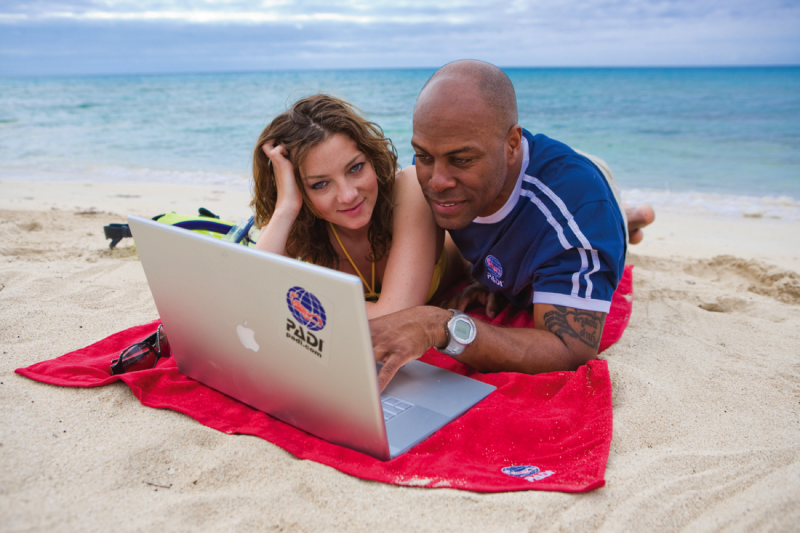 PADI course for eLearners