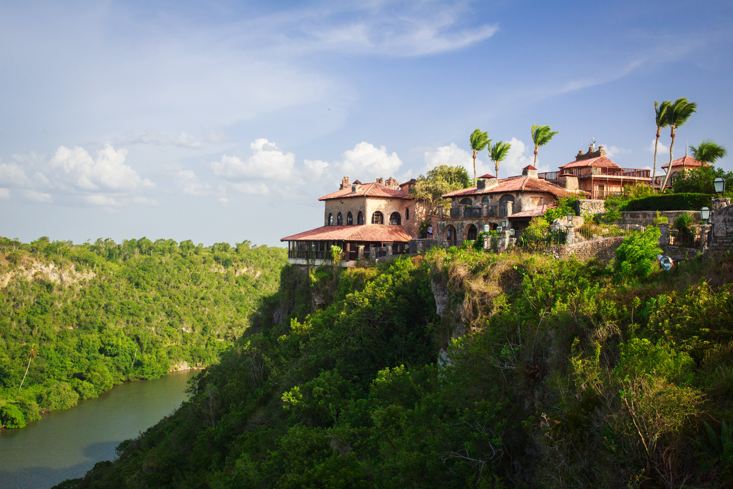 Altos de Chavon river view