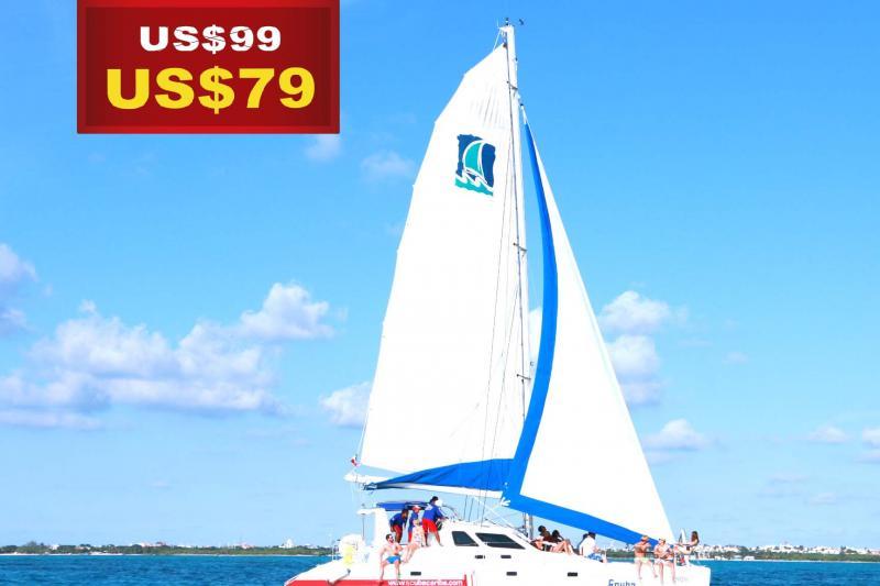 Isla Mujeres VIP Catamaran Carlena