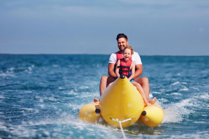 Banana ride