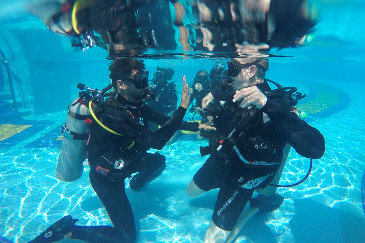 PADI Touch for Open Water Diver
