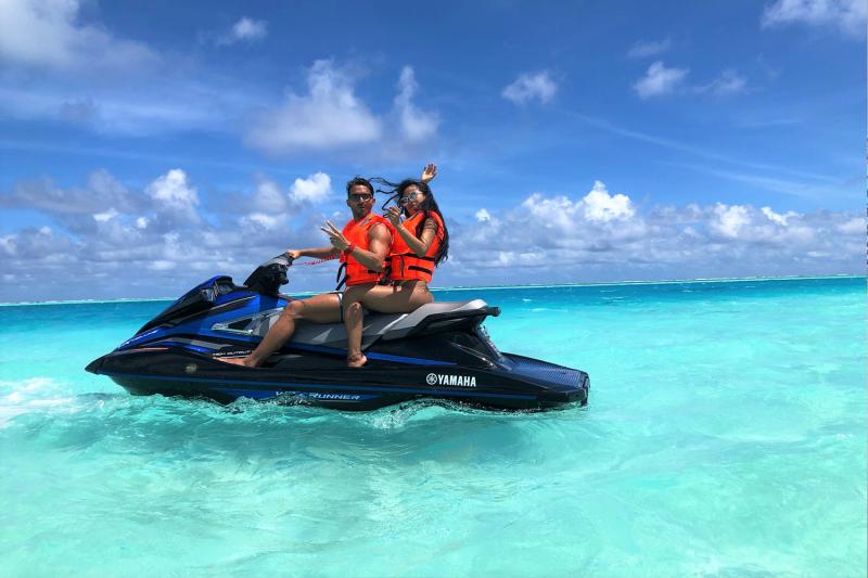 WaveRunner Tour ScubaCaribe Maldives
