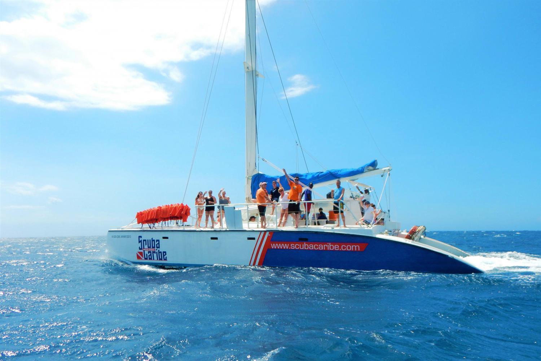 Catamaran Cruise ScubaCaribe Jamaica