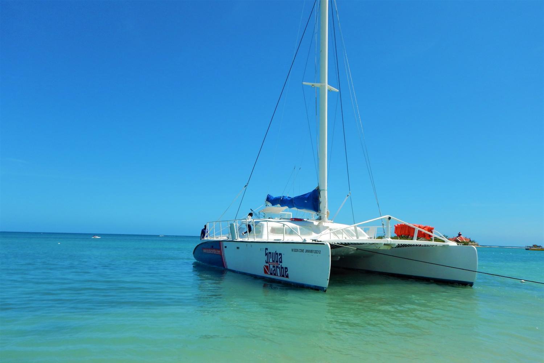 ScubaCaribe Catamaran Cruise