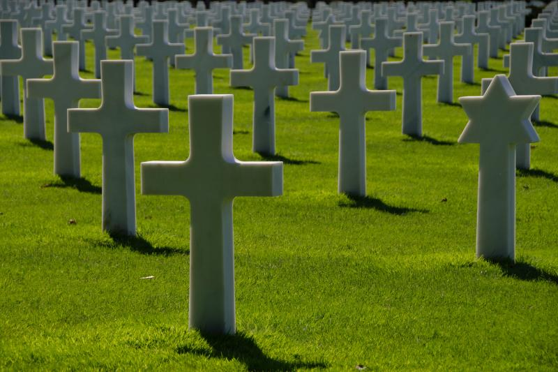 Cemetery at Colleville-sur-Mer