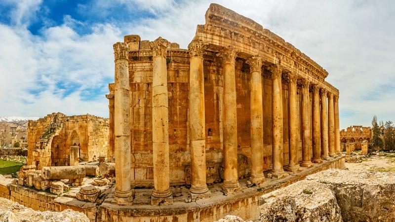 Ancient ruins of Baalbeck, Lebanon