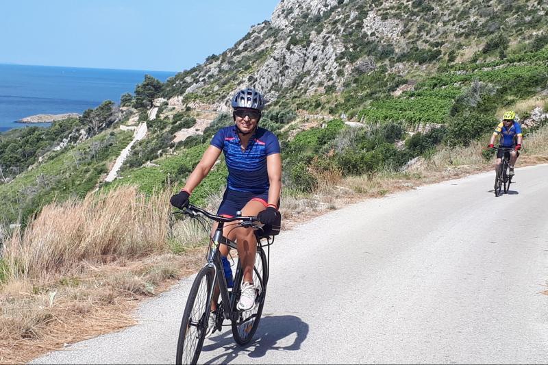 Cycling from Konavle through amazing countryside to the Peljesac peninsula