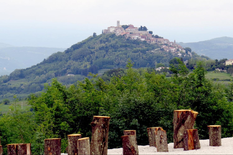 Motovun medieval fort town