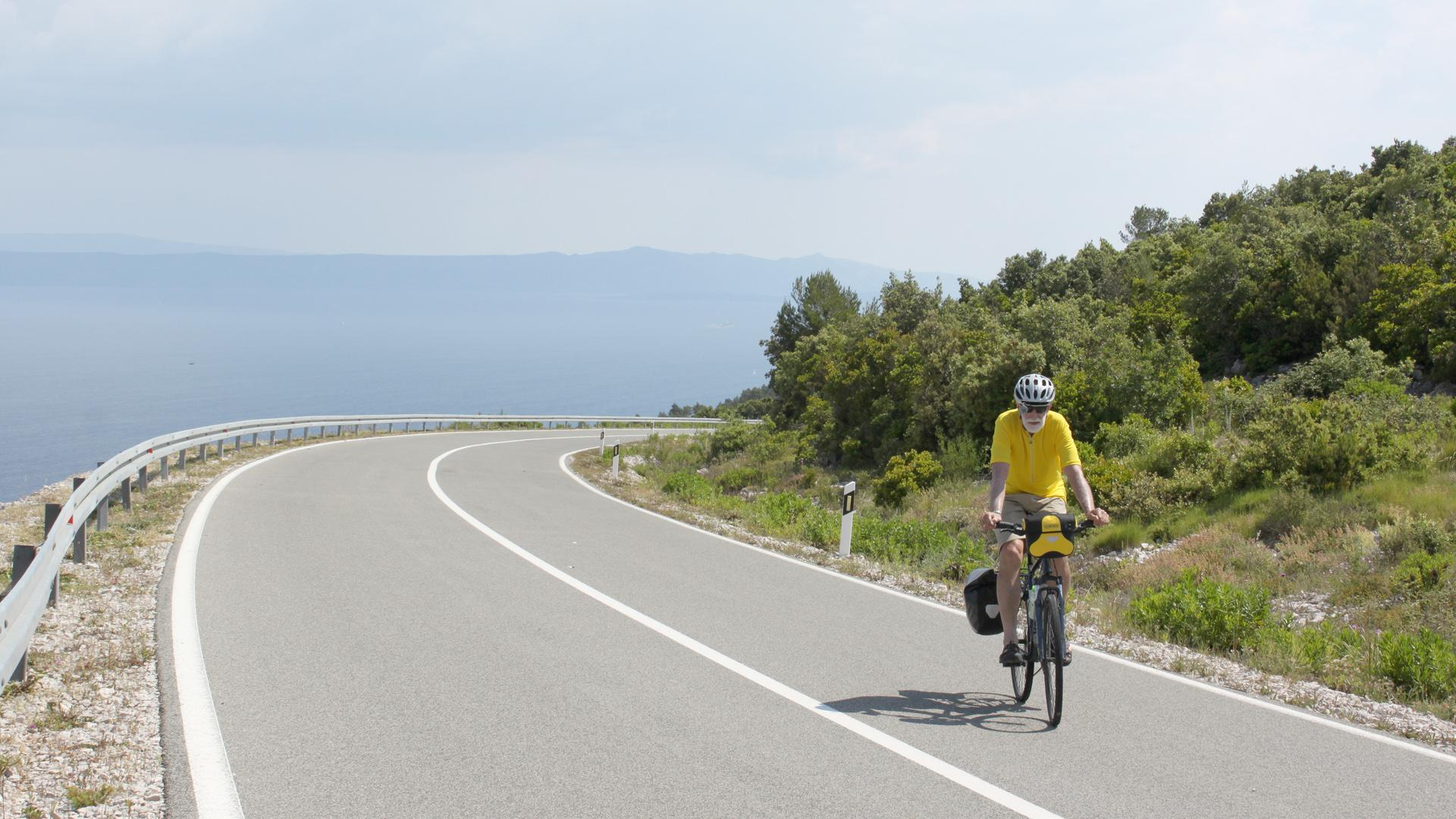 Biking from Split to Dubrovnik