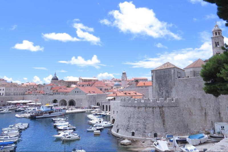 Self guided cycling tour from Split to the