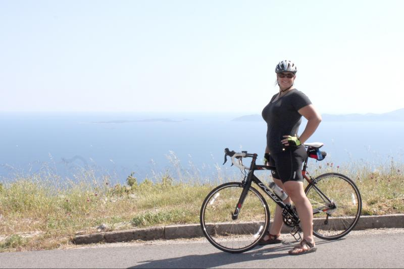 Bike along lavender fields to reach trendy town of Hvar