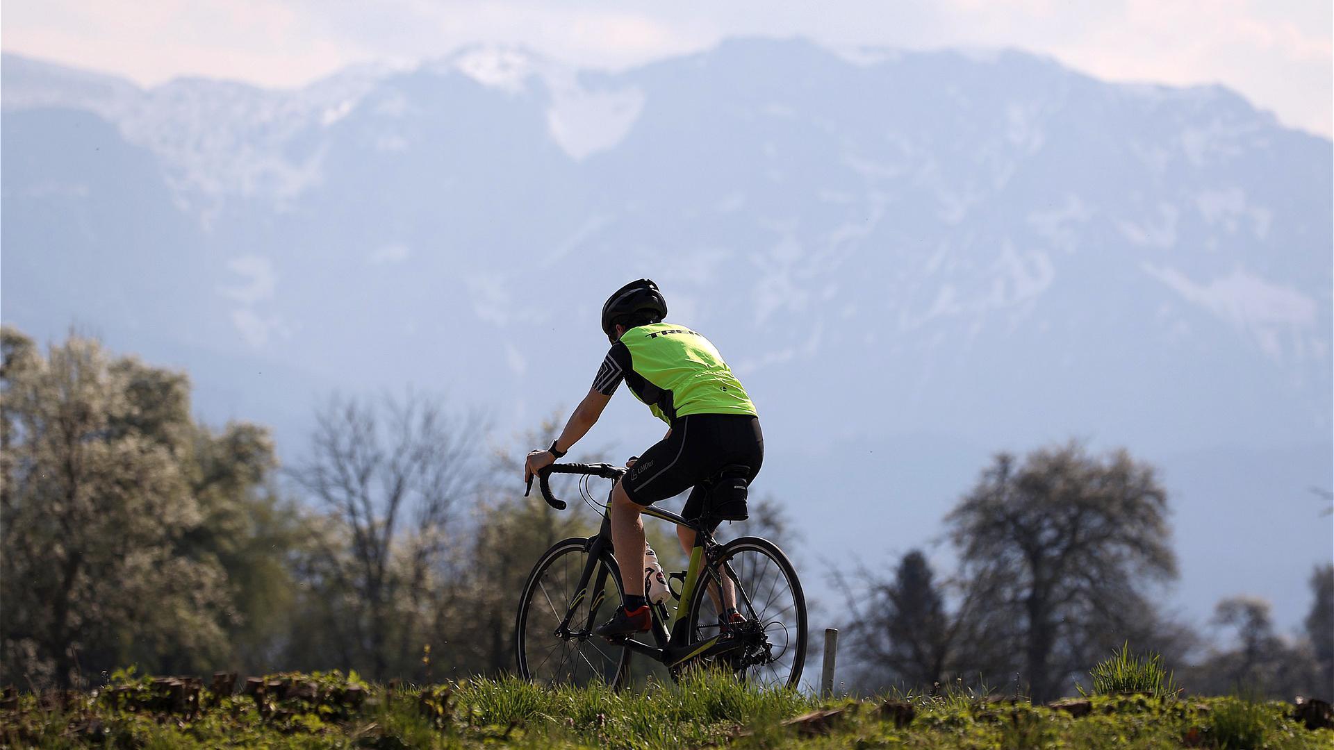 Gravel biking across the Velebit mountain