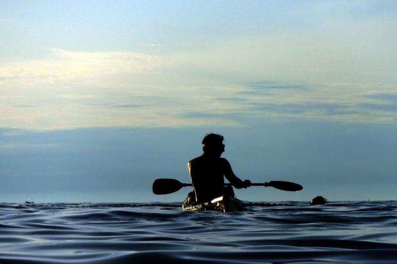 Večernjem kupanju u moru
