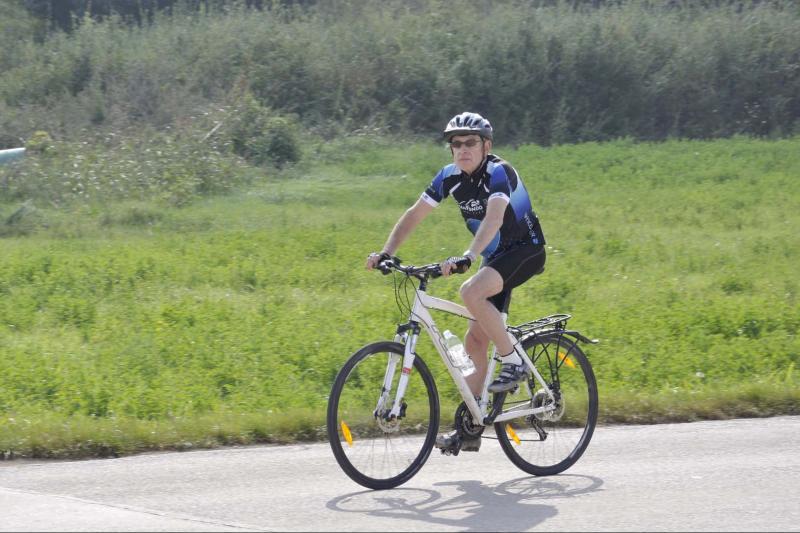 Bicikliranje na putovanju od Italije preko Slovenije do Hrvatske