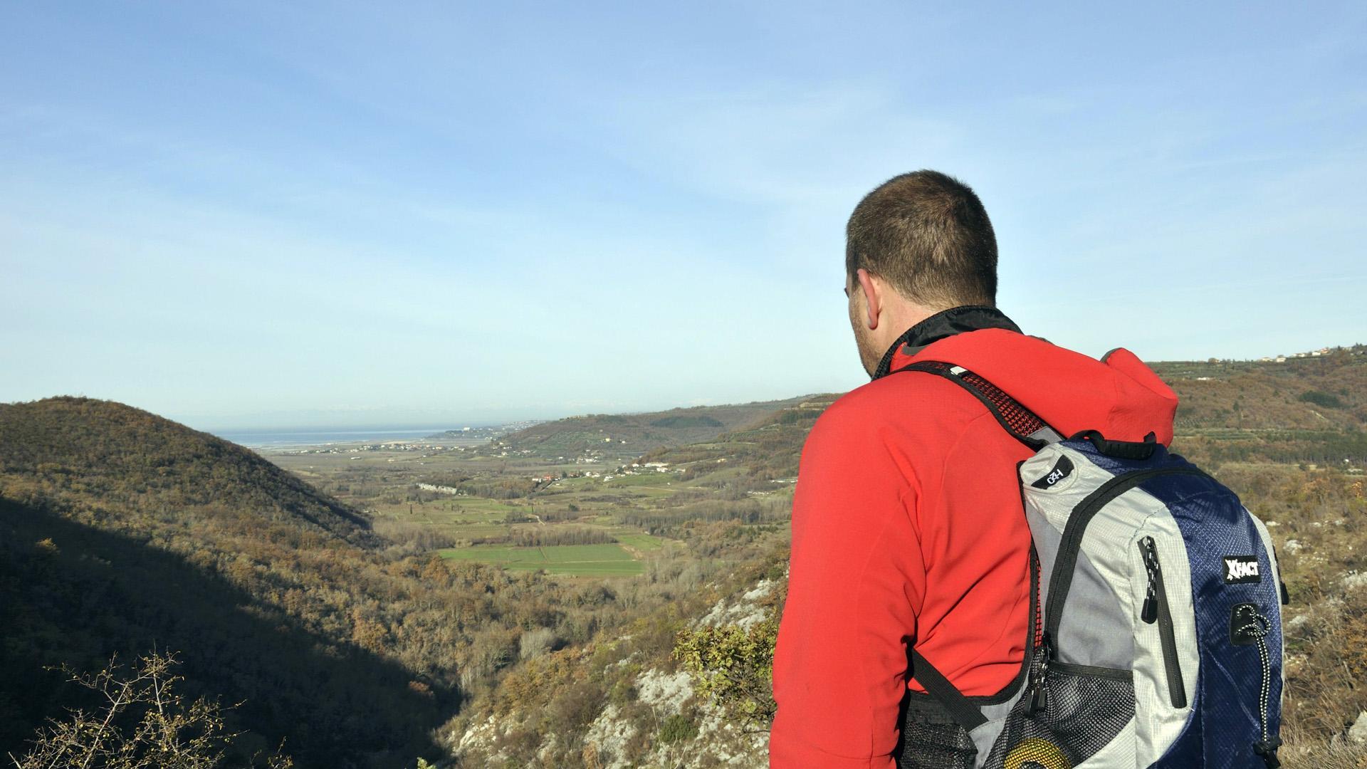 Pješačenje zelenom Istrom