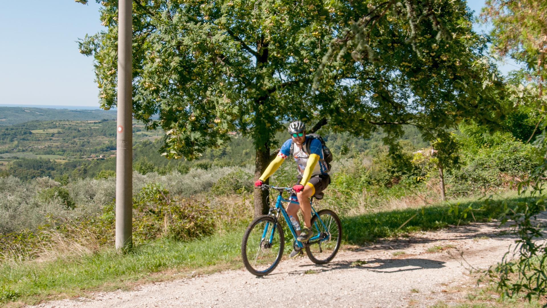 Brdskim biciklom po Parenzani