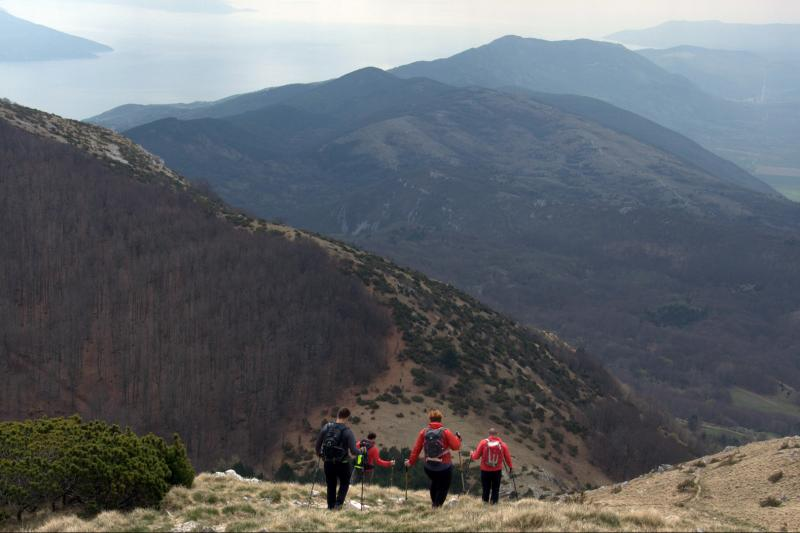 Planinarenje, šetnja u prirodi, hodanje