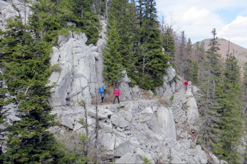 Pješačenje kroz četiri hrvatska nacionalna parka i poznatom Via Dinaricom