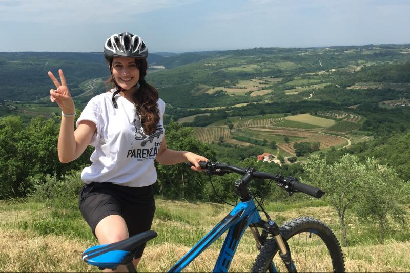 Biking Parenzana Trail