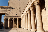 Temple of Horus at Edfu, Egypt