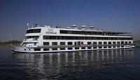 Jaz Royale Nile cruise boat on the Nile, Egypt