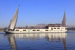 Rihana Dahabiya on the Nile, Egypt