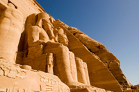 The Colossol Temples of Abu Simbel