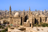 Wonderful view over old Cario, Egypt