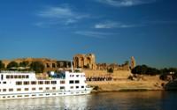 Luxury Nile Cruise Boat, Egypt