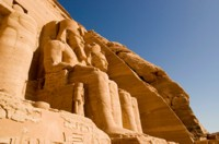 Temple to Ramses II at Abu Simbel, Egypt