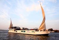 Classic Dahabiya on the Nile