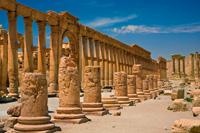 Roman remains at Palmyra, Syria