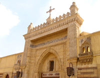 Church in Coptic Cairo