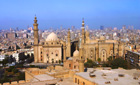View over old Cairo, Egypt