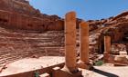 Amphitheare in Petra, Jordan