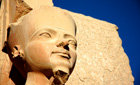 Statue in Luxor, Egypt