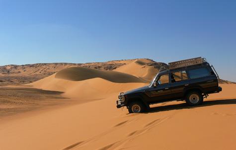 Egyptian Desert Safari, Egypt tour