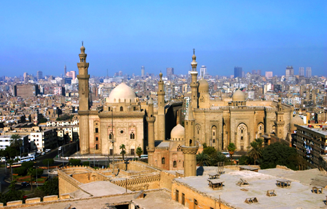 View from the Citadel. Imam el Shafi Mosque