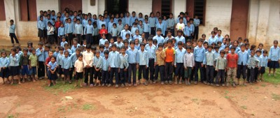 Shree Nalang school children
