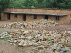 Old classroom. Shree Nalang Primary School, Nepal