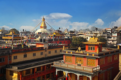 View over the rooftops of Kathmandu, Nepal