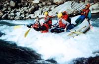 White water adrenaline, Nepal